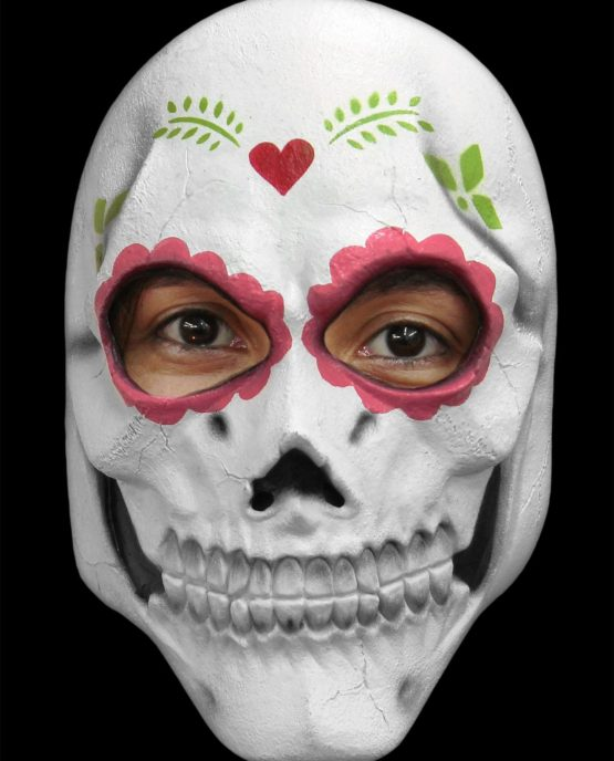 RUBBER MASKER CATRINA (DAY OF THE DEAD)